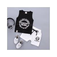 男童套装新款夏季儿童童装0-4岁宝宝韩版夏装婴儿纯棉衣服