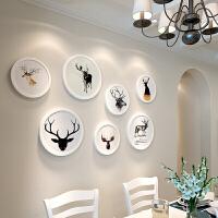 实木相框挂墙创意现代客厅照片墙装饰5710寸画框装裱摆台组合 全套相框组合+送画芯