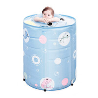婴儿游泳池家用宝宝新生儿童洗澡桶保温支架游泳桶