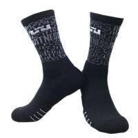 篮球袜中筒球袜高帮透气毛巾袜加厚吸汗运动袜子跑步训练减震袜男 均码