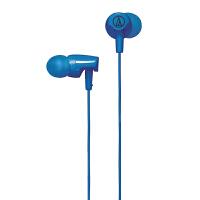 铁三角(Audio-technica)ATH-CLR100 WH 入耳式耳机 蓝色