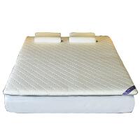 乳胶床垫1.8m床榻榻米1.5米单双人加厚学生宿舍软硬两用定制垫子 乳胶针织加厚款 白色7.5cm
