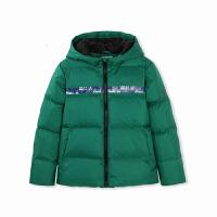 儿童轻薄羽绒服男童冬装中大童外套保暖时尚外衣