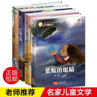 正版全4册蓝鲸的眼睛冰波王一梅畅销小山神住在楼上的猫儿童漫画书8-9-10-12-15岁小学生二年级三四五六年级课外必