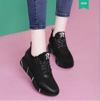 莫蕾蔻蕾春季新款韩版百搭ulzzang原宿内增高休闲女鞋运动鞋ML8136