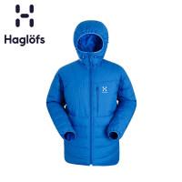 Haglofs火柴棍户外运动男款连帽全拉链保暖羽绒服602709 欧版