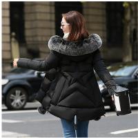 特大码女装加厚冬装羽绒 200斤胖MM加肥加大中长款棉衣胖妹妹 大码M 建议85-95斤