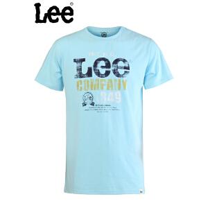 Lee 【断码】专柜正品时尚纯棉圆领短袖T恤L11005J06441