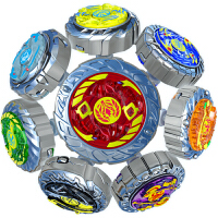 魔幻陀螺2代全套装儿童玩具发光深海冰龙神焰天火龙王男孩