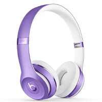 Beats Solo3 Wireless 头戴式 蓝牙无线耳机 手机耳机 游戏耳机 - 紫色 MP132PA/A