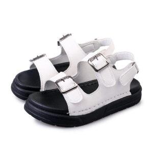 O'SHELL法国欧希尔新品060-6005韩版超纤皮松糕底女士凉鞋