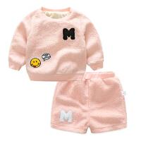 男女宝宝春秋款裤子婴儿6个月宝宝新生儿秋季薄款百搭休闲短裤1岁