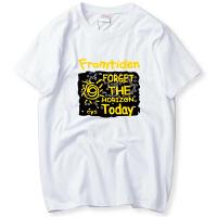 韩观春夏季大码男装短袖T恤男加肥加大胖子宽松圆领休闲运动上衣