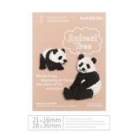 日本可爱小号动物刺绣烫布贴时尚儿童衣服羽绒服丁贴修洞