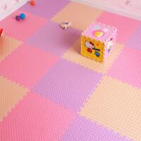 儿童宝宝爬行垫客厅卧室泡沫地垫树叶纹拼图大号拼接60