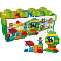 【当当自营】LEGO乐高多合一绿色趣味桶装 10572