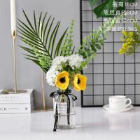 仿真花客厅装饰花假花塑料花束餐桌摆设冰箱顶部花艺用品摆件