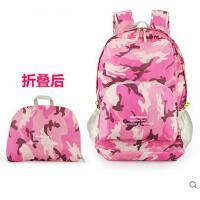 学生旅行登山双肩包便携旅游包防水包皮肤包背包户外可折叠双肩包