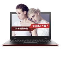 联想 Ideapad 700s ISK14英寸超薄本笔记本电脑 6Y30 8G 256固态 超薄 高清 无驱 W10