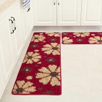 厨房长条防油地垫脚垫门垫进门门口家用垫子卧室吸水防滑地毯定制SN3088