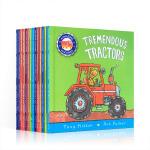 顺丰发货 神奇交通工具机器小书系列The Amazing Machines 10本精装盒装 英文原版 幼儿启蒙认知读物