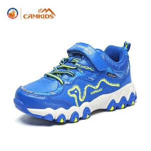 CAMKIDS童鞋男女童户外登山鞋 2018春季新款大童运动鞋耐磨