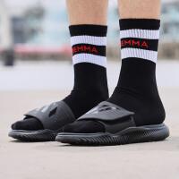 adidas阿迪达斯男子拖鞋18新款SUPERSTAR3G魔术贴运动凉拖G40165