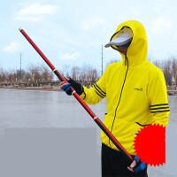 黑坑鲟鱼竿大物竿巨物竿暴力12H超硬19调战斗杆6.3米青鱼竿台钓竿