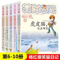 笑猫日记(6-10)5册 虎皮猫.你在哪里+蓝色的兔耳朵草+小猫出生在秘密山洞+樱桃沟的春天+那个黑色的下午小学生阅读