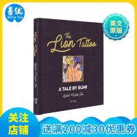 The Lion Tattoo 狮子纹身:鲁米的故事 英文原版艺术绘本