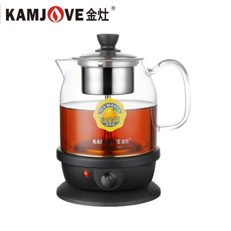 金灶(KAMJOVE) A-50 全自动智能煮茶器煮黑茶普洱电热水壶玻璃壶 多种烹饪选择 喷淋煮茶法 不锈钢喷淋滤胆