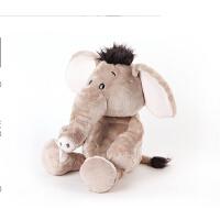 发声小象礼盒 大象公仔儿童毛绒玩具 家居摆件装饰