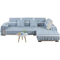 夏季沙发垫欧式四季通用防滑简约现代布艺沙发套包沙发罩巾盖・