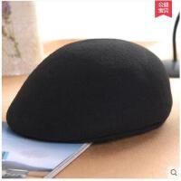 复古英伦休闲礼帽 毛呢帽贝雷帽 女 帽子韩版潮 画家帽鸭舌帽  可礼品卡支付