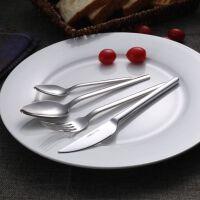 不锈钢西餐餐具牛排刀叉勺子四件套装欧式西式家用加厚