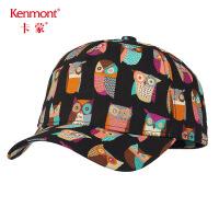 卡蒙3-6岁宝宝儿童棒球帽秋男童鸭舌帽女童全棉甜美可爱卡通帽子4607