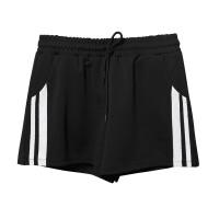 跑步运动短裤女夏季新款韩版学生高腰宽松阔腿休闲裤居家睡裤速干