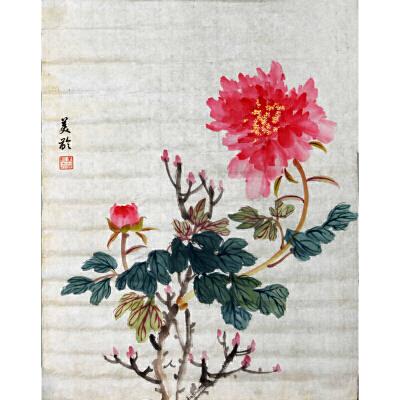 L92宋美龄《花卉》