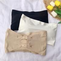 【下单立减120元 仅限今日】韩版冰丝短款裹胸无肩带抹胸带胸垫美背文胸
