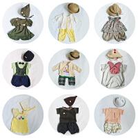 韩版新款儿童摄影服装百天半岁宝宝艺术照摄影f服饰写真照相衣服