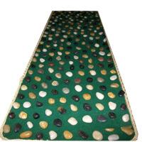 健康之路 雨花石鹅卵石按摩垫足底按摩健康步道石子路足部走毯 按摩毯 石子路