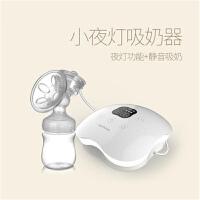 【支持礼品卡】小夜灯电动吸奶器手动式静音挤奶器自动产后拔奶器h5u