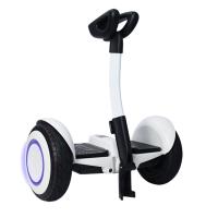 小孩平衡车带扶手 平衡车儿童智能电动车代步车两轮小孩双轮平行车带扶手杆HW