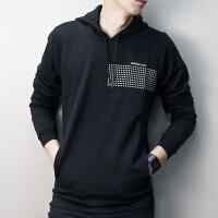 Adidas阿迪达斯 NEO 男子运动卫衣 休闲连帽套头衫CD3502