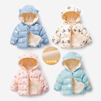 婴儿秋冬装棉衣服儿童男女宝宝冬季外出棉袄外套