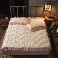 床笠单件加厚夹棉床套席梦思床垫保护套