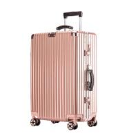 行李箱铝框拉杆箱女男学生韩版皮箱子20密码箱26旅行箱万向轮24寸