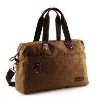 欧美潮流帆布包男包大容量单肩包户外手提包斜挎包旅行包背包