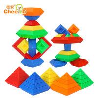 彩虹圈塔叠叠乐玩具叠叠杯儿童套杯益智转转塔堆堆乐套叠3-4-6岁