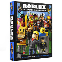 Roblox Character Encyclopedia Roblox游戏官方攻略指南书 人物角色大百科揭秘 英文原